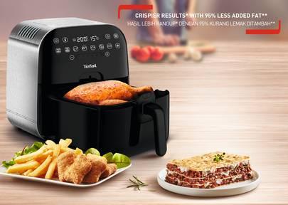 氣炸鍋推薦2020 5.TEFAL 特福 FX202D 氣炸鍋(特福官網)