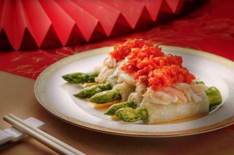 唐閣新春賀年菜餚「祝君身壯健」