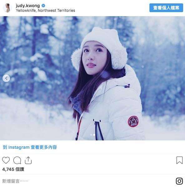 羽絨外套牌子推介6-Aigle,鄺潔楹也愛穿(圖片來源:judy.kwong@instagram)