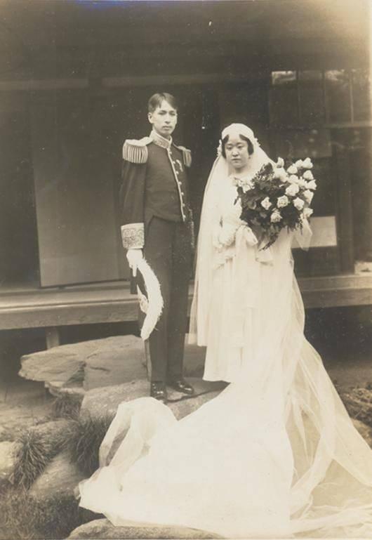 德惠翁主與宗武志的結婚照。(圖片來源:首爾歷史博物館網站)