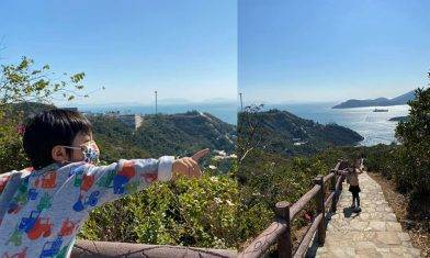 南朗山行山新手路線|黃竹坑站出發45分鐘登山、飽覽港島南岸日落美景|親子好去處