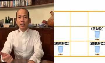 蘇民峰家居風水2021-病位如何化解?文昌+催財+化是非 只需一杯水