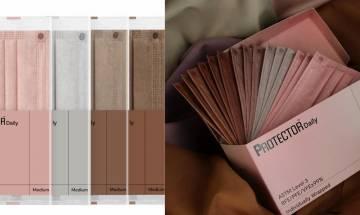 Protector口罩全新推出新奶茶色系! 一盒齊五色:玫瑰棕色、 焦糖棕色、啞粉紅色