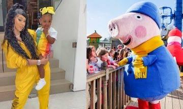 Peppa Pig遇強敵 美歌后Cardi B公開鬧爆卡通情節教壞2歲囡囡