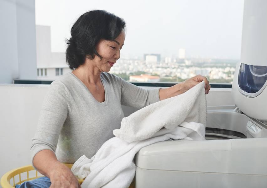 揭蓋式洗衣機清洗方法