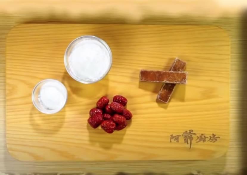 年糕食譜2. 棗蓉年糕(TVB節目《阿爺廚房》電視截圖)