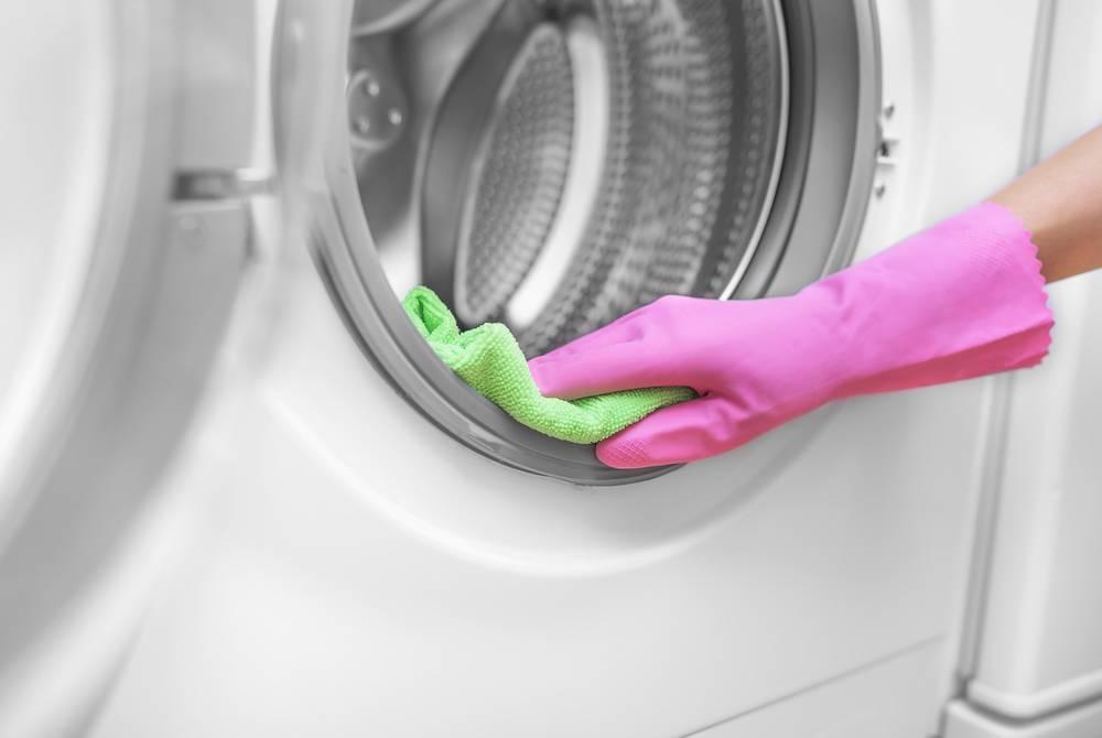 疑問5:洗衣機膠邊發霉點做?