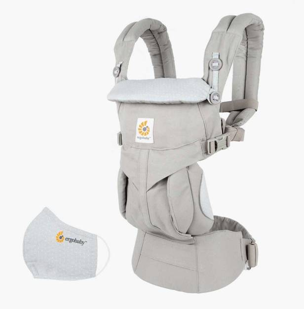 Omni 360 Baby Carrier All-In-One  Anti-Microbial – Grey Diamond