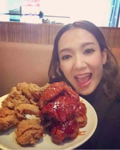 王君馨減肥期間仍有食肉。(圖片來源:王君馨IG)