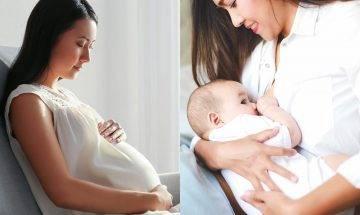 懷孕媽媽必學10大冷知識 原來母乳會影響BB情緒