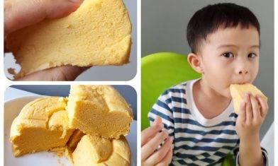 雞蛋糕食譜-不用自發粉 簡單蒸出軟綿綿蛋糕