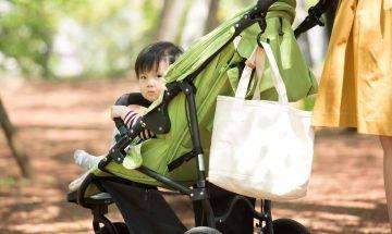 帶7個月大女兒坐BB車散步 遇路人炫耀:我孫仔9個月就識行