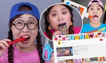 Elsagate影片再現?YouTuber拍兒童風格吃播片 疑誘小孩食「𠝹刀」 家長要留意