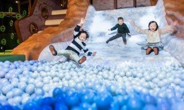 DOCODOCO室内遊樂場康城開幕!8大遊戲區:冒險之島瀑布/投影廚房/迷你沙灘