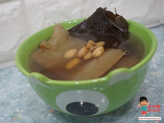 雨水節氣湯水食譜1.黃瓜荷葉粟米鬚素湯