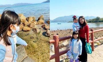 泥涌石灘打卡景點一覽:天空之鏡+日落美景+濕地紅樹林|親子好去處