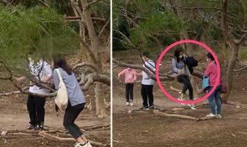 普通話媽媽教仔有問題?教仔女騎樹盪韆鞦 被網民公審指「唔識教」