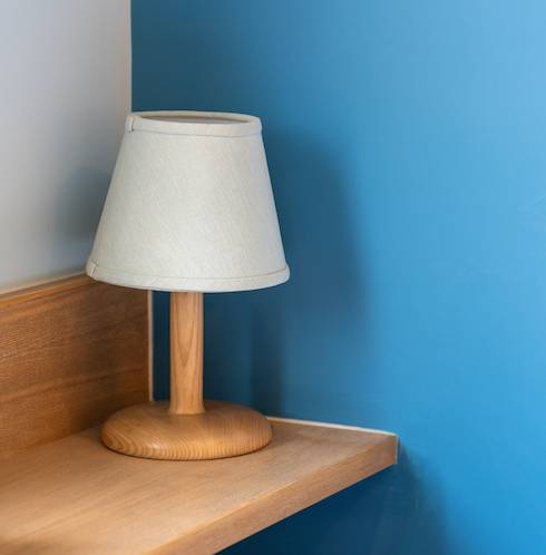 抹燈方法3. 布面燈具
