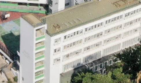 中華基督教會銘賢書院的外觀。