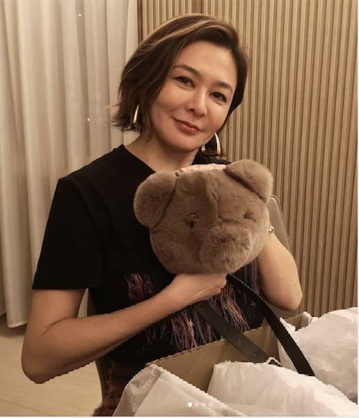 著名的校友有關之琳。圖片來源:關之琳@Instagram