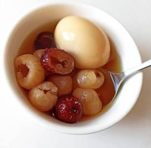 養生甜品|圓肉雞蛋紅棗茶 改善手腳冰冷及失眠