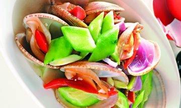 勝瓜煮花甲 10分鐘鮮味食譜
