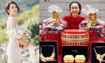 33歲湯怡宣布嫁麥秋成兼升呢準媽媽  依足傳統過大禮 大肚湯怡被勒令唔准郁