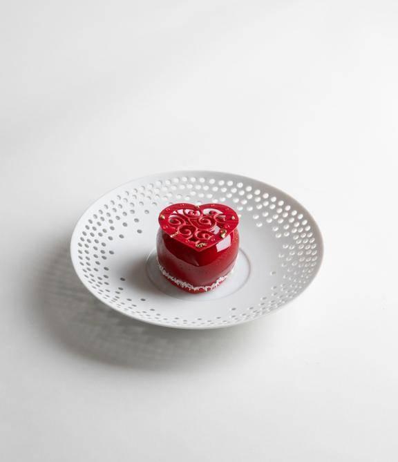 Jasmin Tea, Raspberry Cake茉莉花茶紅桑子蛋糕