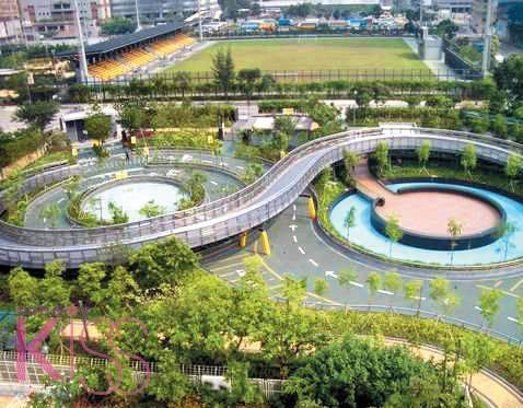 九龍灣公園 圖片來源:新傳媒圖片庫