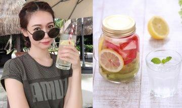 營養師推薦4款美白亮顏「蔬果排毒水」必試菠蘿檸檬青瓜水+ 按摩美白穴