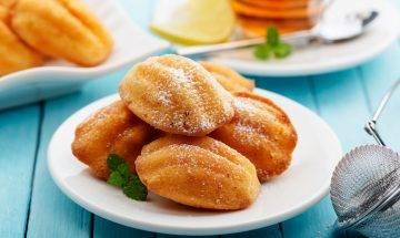 檸檬瑪德蓮蛋糕食譜-法式甜品Lemon Madeleine 孩子點心最佳選擇