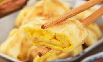 台式古早味薯餅蛋餅食譜-做法零失敗 可隨意加入喜愛食材