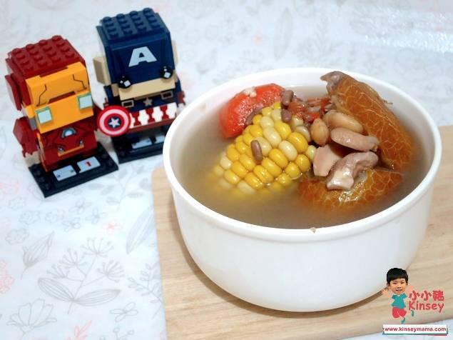 春分養生湯水食譜3.老黃瓜赤扁豆素湯