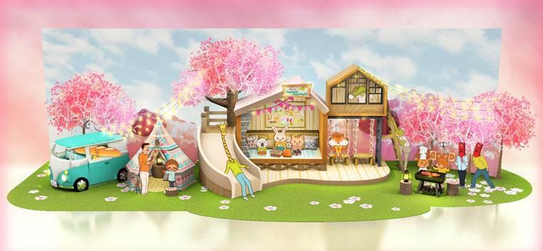 以觸動少女心的8大夢幻粉紅華麗露營秘境滿足港人外遊賞花的心願。
