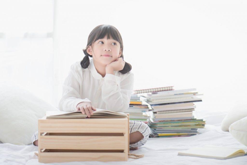 引領女兒思考事情的來龍去脈,從而找出需要改善和學習改過。