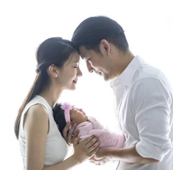 陳華鑫於2018年成婚,同年誕下囡囡。(圖片來源:陳華鑫 IG)