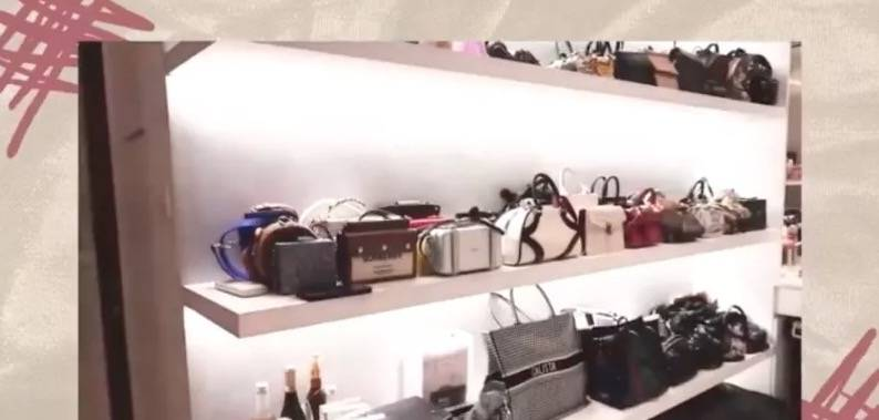 大量名牌包包(圖片來源:蔡佳芸@RED