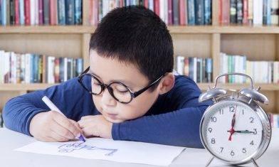 8成父母每日催促孩子 致注意力不集中 10歲前7個階段掌握時間觀念