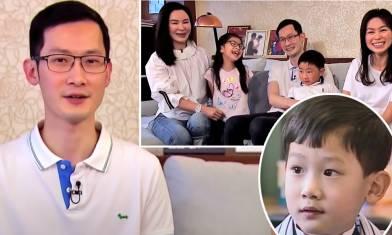 TVB《尋人記》曾小學面試失敗 29年後做三孩爸爸幫仔女贏在起跑線