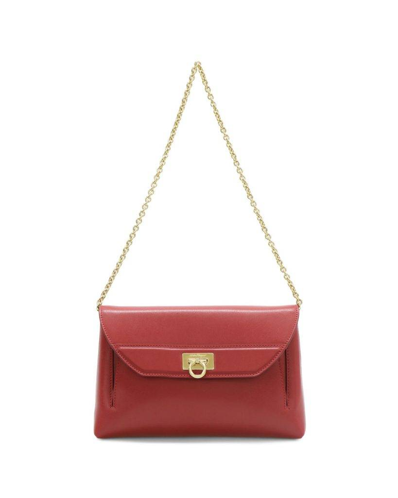 Ferragamo紅色手袋 原價:HK,600 特價1折:HK0
