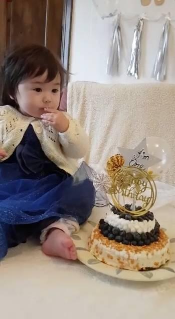 藍莓無蛋蛋糕做法(受訪者小旦旦媽媽提供)