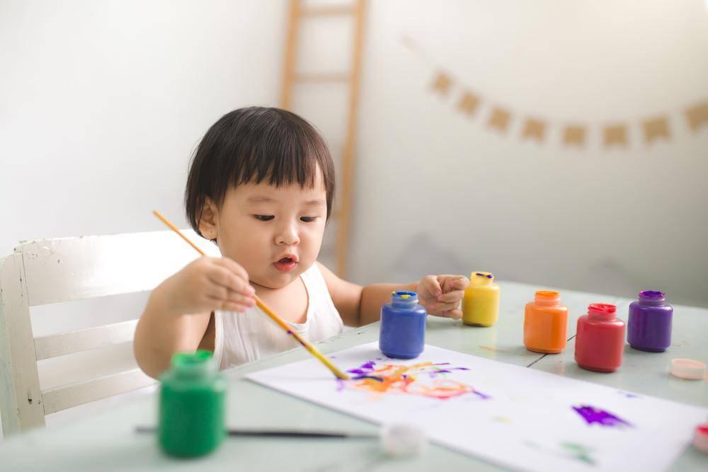 繪畫類玩具是最能夠發揮小朋友的創意力。(圖片: Shutterstock)