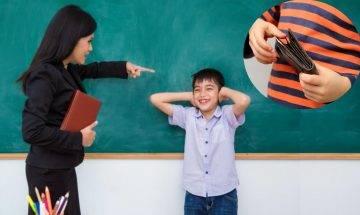 偷同學銀包被老師罰企5小時 12歲小學生問網民:學校有無違法 附3招令孩子知錯能改的方法