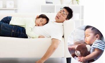 爸爸睡眠品質不受BB喊聲影響 加拿大博士:媽媽對哭鬧聲特別敏感