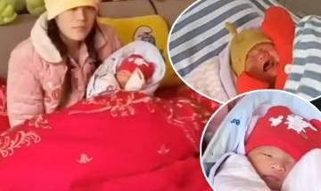 新手父母產後出院 將初生B遺留病床 護士急call狠鬧 爸爸解釋令人無言