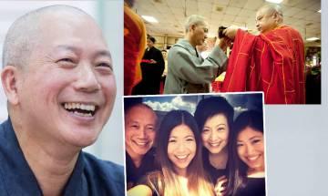 常霖法師葉青霖與廖安麗結婚24年突然辭親剃度 出家11年坦言曾被細女鬧自私