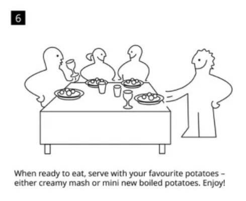 IKEA瑞典肉丸食譜貼士:可以孺意加入焗薯、薯蓉作伴碟。(IKEA官方網站)