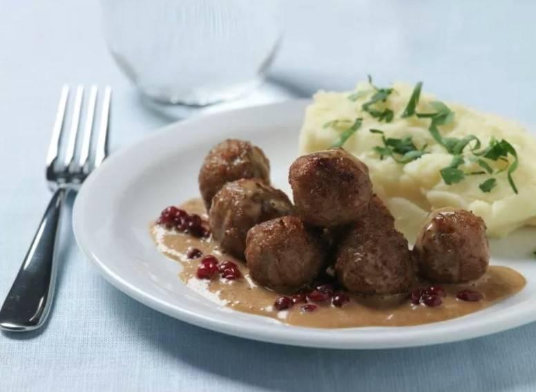 IKEA瑞典肉丸食譜(IKEA官方網站)