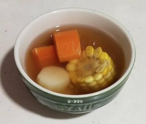 口氣消失+增食慾 穀芽麥芽馬蹄紫花果粟米湯