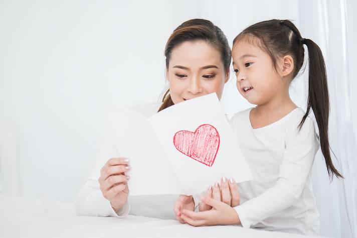 保存母親節卡方法 2. 做成餐墊
